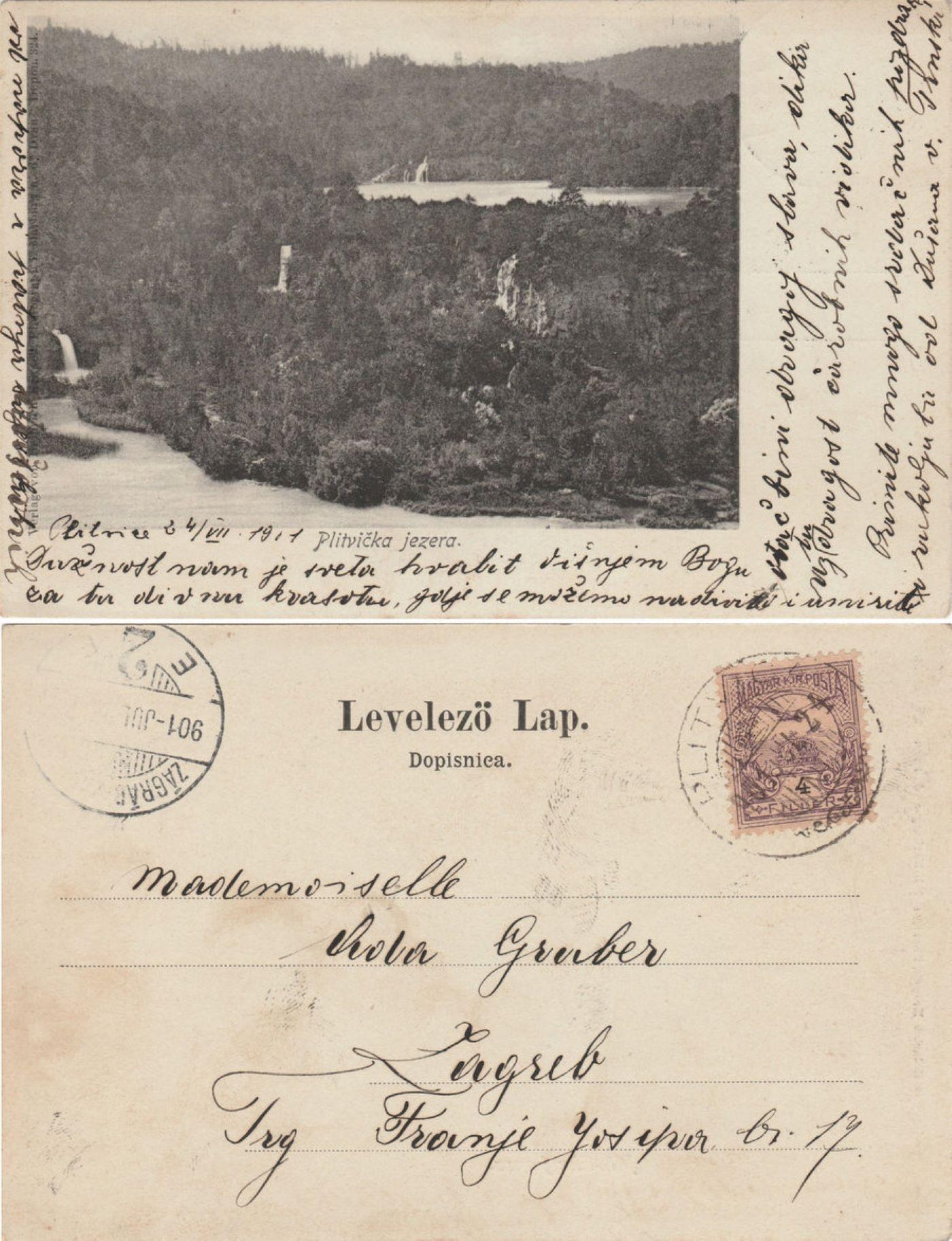 razglednice plitvička jezera